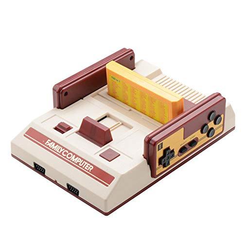 AOLVO Retro Classic Game Konsole, FC Game Player Bulit in 252 Spielen Mini-Familie Computer Controller Doppel-Weihnachts-Jahr Großes Geschenk für Kinder Erwachsene Eltern (Nintendo 64 Spiele Für Kinder)