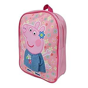 Niños 3D Mochila Bolsa de Cabina para Niños Niño Gateador Junior Mochilas para Escuela Cuarto del Bebé Viaje (Peppa Pig) – Peppa Falda, One Size