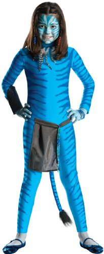 Neytiri Avatar Kid Kostüm - Generique - Costume Avatar Neytiri Ragazza