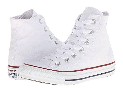ConverseChuck Taylor All Star Adulte Seasonal Leather Hi - Scarpe da Ginnastica Basse Uomo Optical White
