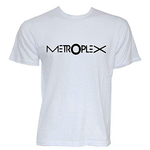 Metroplex Records bedruckt TShirt Weiß - Weiß