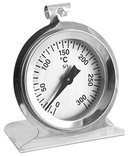 Termómetro de horno Lantelme, 300 grados, acero inoxidable, para colgar y colocar en el horno, termómetro...