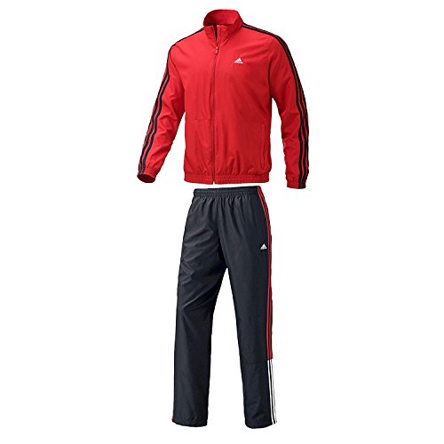adidas Performance Herren Trainingsanzug schwarz XL