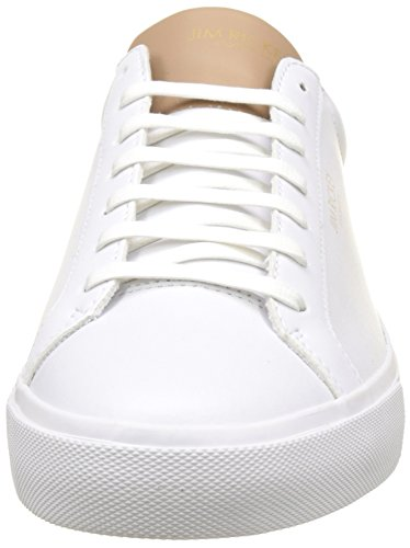 Jim Rickey Chop, Baskets Basses Homme Blanc (White/Taupe)