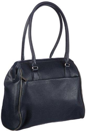 Tamaris PENELOPE Doctor's Bag A12902890, Damen Henkeltaschen 36x28x13 cm (B x H x T) Blau (navy comb 890)