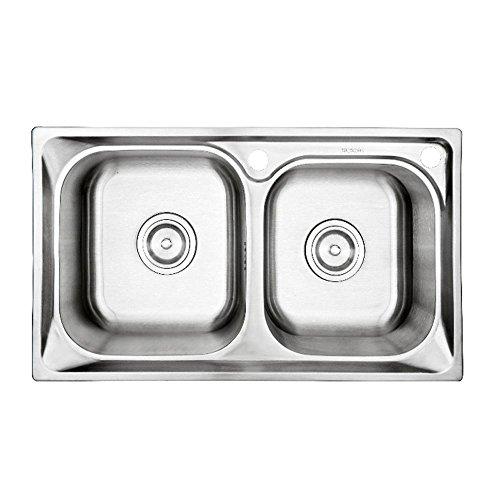 Integral formano trafilatura da cucina in acciaio