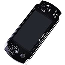 PSP INEXT Classic Handheld Gaming Console 8 GB PlayStation With Preloaded Games,WiFi,FM,TF Memory Card And Camera 4.3 Inch Screen Full HD 1080p [ Black ] YZone