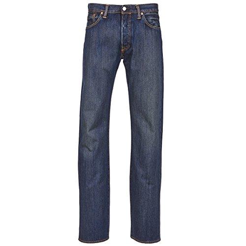 Levi's 501 The ORIGINAL Jeans Herren Dark - DE 46 (US 36/34) - Straight Leg Jeans (Levis 501 34 36)