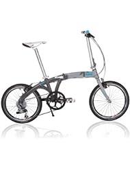 Kansi 20 9twenty 9 Speed Folding Bike Grey Grey Custom