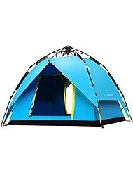 2-3 Personen im Freien Zelt Campingzelt regen verdickte Paar automatische Jurte Fahr