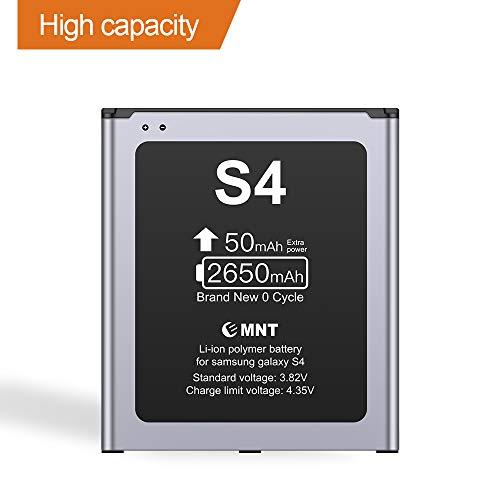 ZMNT-Akku für Samsung Galaxy S4 Verbesserter Lithium-Ionen-Akku für 2650 mAh Ersatz für Samsung S4 (Akku Für S4)