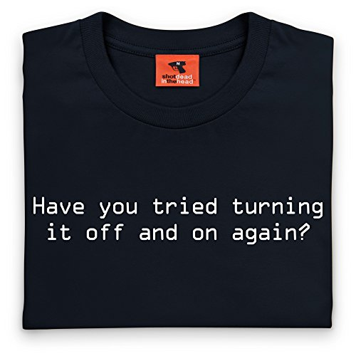Off and On - T-Shirt, Herren Schwarz