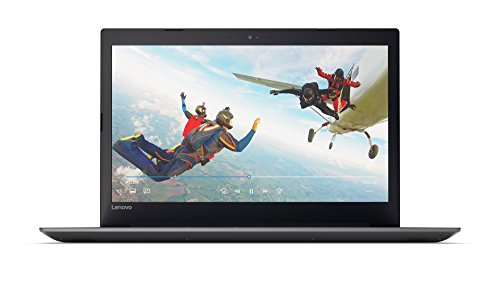 Lenovo IdeaPad 320 43,9 cm (17,3 Zoll HD+ Anti-Glare) Notebook (AMD A6-9220 Dual-Core, 4 GB RAM, 1 TB HDD, DVD-Brenner, AMD Radeon R4, Windows 10) schwarz (onyx black)