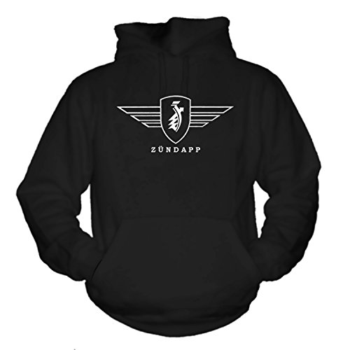 Bikes and Military Zündapp - Hoodie, Schwarz, L -