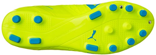 Puma Evospeed 1.4 Ag, Chaussures de football homme Jaune - Gelb (safety yellow-atomic blue-white 04)