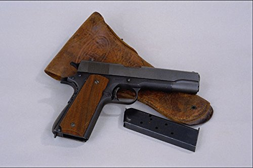 456045-colt-1911-45-cal-magazine-and-us-army-hip-holster-a4-photo-poster-print-10x8