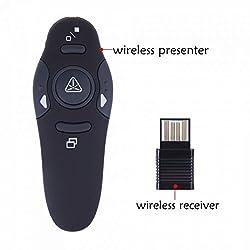 2.4GHz Wireless USB Powerpoint PPT Presenter - Remote Control Laser Pointer Pen