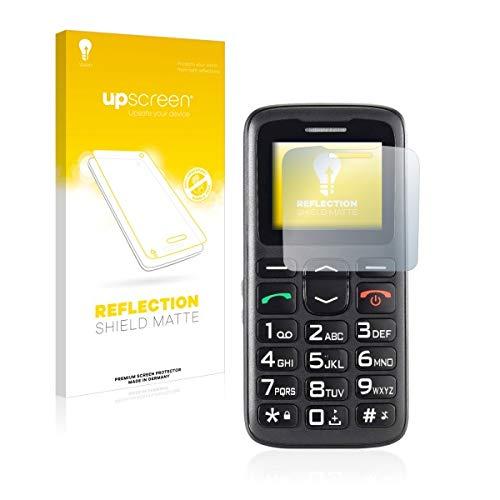 upscreen Reflection Shield Matte Bildschirmschutz Schutzfolie für Simvalley Mobile XL-915 V3 (matt - entspiegelt, hoher Kratzschutz)