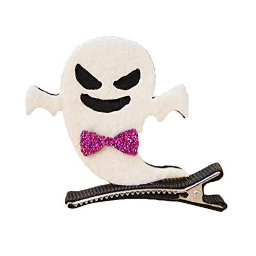 (ZOOMY Kinder Halloween Kürbis Hexe Fledermaus Haarspange Maskerade Party Haarnadel Barrette Ghost)