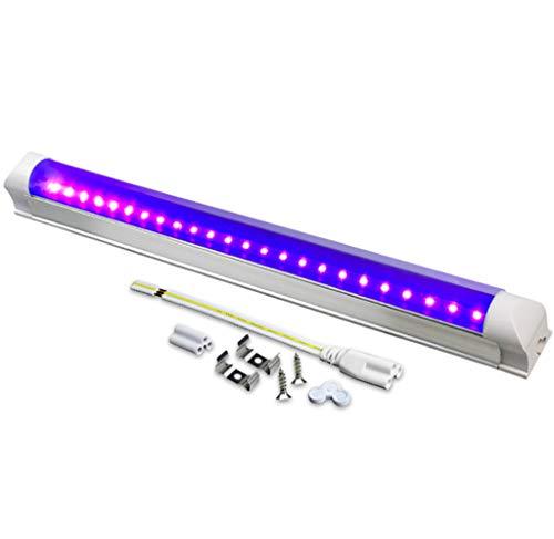 UV LED Disinfection Light Lamp Sterilization Lamp Anti-Bacterial Rate 99% UV Steriliser Kill 99.9% Virus Bacteria Mold Mites Germ for Household Toilet Pet Area