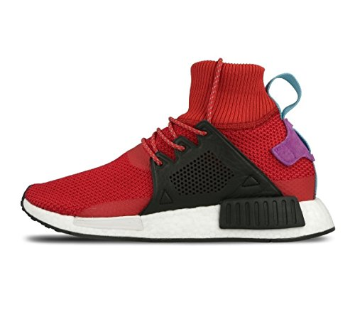 adidas Men's Nmd_Xr1 Winter Fitness Shoes, Red (Scarlet/Negbas/Pursho), 9.5 UK