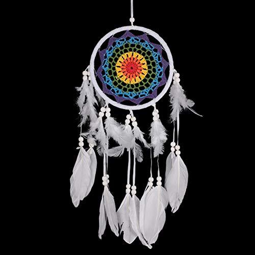 bt Fantasie Indian Federn Innendekoration Anhänger Auto Ornamente Traumfänger Persönlichkeit Kreative Geschenke Zu Schicken Mädchen Retro Verträumt ()