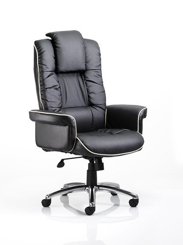 Best Saving for CHELSEA BLACK BONDED LEATHER EXECUTIVE ARMCHAIR Review