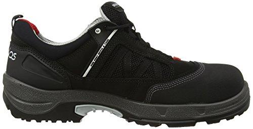 Jalas 3010Zénith Geox Chaussures basses de sécurité S2Esd noir/gris/rouge