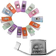 Blesiya 1 Pieza Guía Magnética Seam con 50pcs Agujas Clips Costura Medición Máquina de Coser