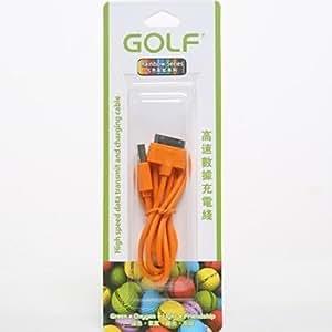 GOLF ? Cable USB pour iPhone 4/4s (couleur al¨¦atoire)