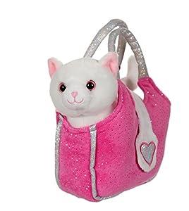 Gipsy 070672-Lovely Bag 20cm Gato Blanco