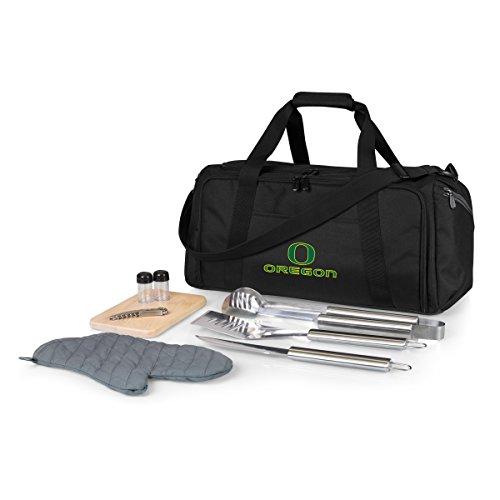 NCAA Unisex BBQ Kit Kühler Tote mit Grill- und Picknick Zubehör, Unisex Logo Shaker Set