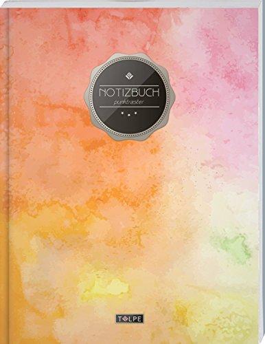 TULPE Punktraster Notizbuch A4