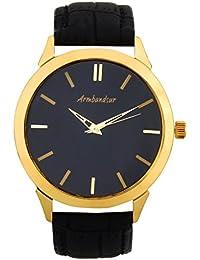 Armbandsur Analog elegant Golden Case Men's Watch-ABS0006MGB