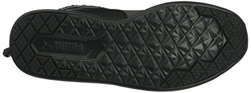 Puma St Winter Boot, Bottes mi-hauteur non doublées femme Noir - Schwarz (puma black-puma Black 01)
