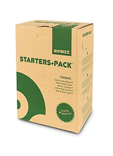BioBizz Naturdünger Starters Pack, mehrfarbig - Tomaten-pack