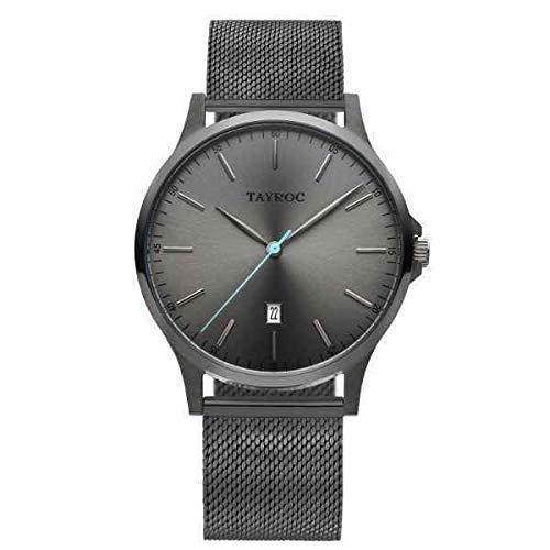 Tayroc Classic Grey Mesh horloge TXM107