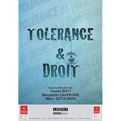 Tolérance & Droit (Actes de colloques de l'IFR)
