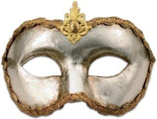 Karneval / Kostüm / Halloween Venezianische Maske - Colombina argento