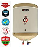 ACTIVA 10 LTR Instant 3 KVA 5 Star Rated Special Anti Rust Coated Tank Geyser with ABS TOP Bottom, HD ISI Element Amazon 1 + 2 Year Extended Warranty (Ivory)