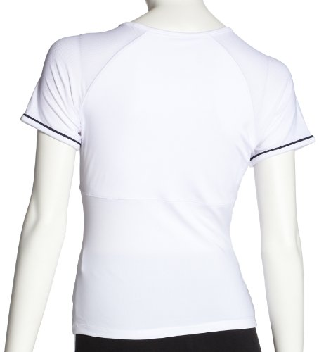 FILA Tennis Capsleeve T-shirt Blanc - Blanc