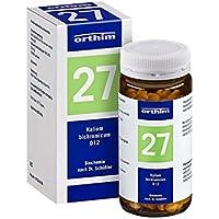 BIOCHEMIE Orthim 27 Kalium bichromicum D 12 Tabl. 400 St Tabletten preisvergleich bei billige-tabletten.eu