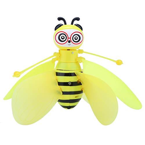 hahuha Toy  Elektrischer Infrarotsensor Bee Flying Toys Handgesteuertes Hubschrauber-LED-Licht