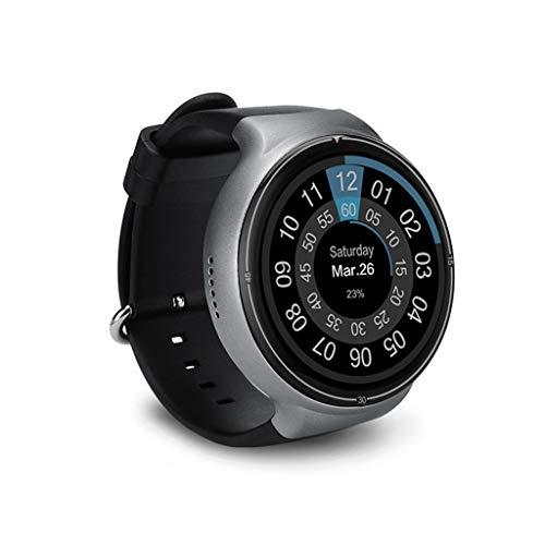 FANZIFAN Intelligente Uhr Neue Bluetooth Smart Watch I4 Pro Android 5.1 RAM 2 GB ROM 16 GB Smartwatch GPS WiFi Nano SIM-Karte 3G relogio Herren Armbanduhr, Grau