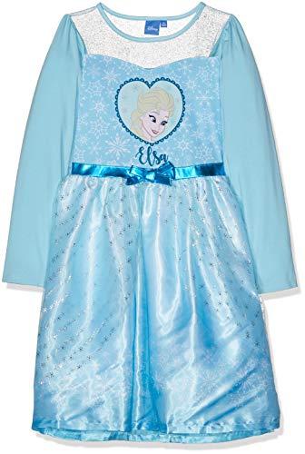 Disney La Reine des neiges Mädchen 2207 Kleid, Blau (Bleu Bleu), 10 ()