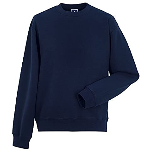 Russell Set-in-sleeve sweatshirt French Navy L