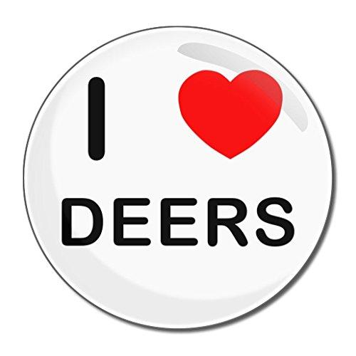 I Love Deers - 55mm ronde de miroir compact