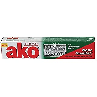 AKO Polish Metallpflege, Hochglanzpolitur, 100 ml