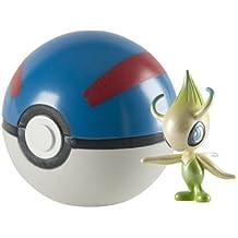 Pokemon Celebi 20 Aniversario figura con Gran Pokeball