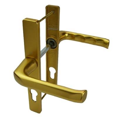 Hoppe Ferco 70PZ Door Handle - Gold - 180mm Centres - Lever/Lever